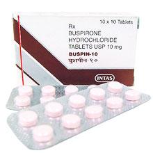 バスピン (塩酸ブスピロン) 10mgの海外通販情報
