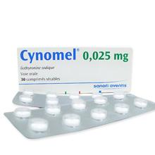 サイノメル(cynomel)甲状腺ホルモン