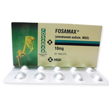 FOSAMAX 10mg (骨粗鬆症の治療薬)