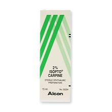 Isopto Carpine 2%(目の薬)