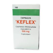 ケフレックス500mg(セフェム系抗生物質)