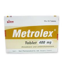メトロレックス 400mg(抗トリコモナス剤)
