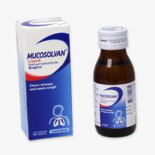 ムコソルバン液体(咳止めシロップ)
