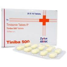 チニバ500(抗生剤)