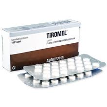 チロメル(甲状腺ホルモン)