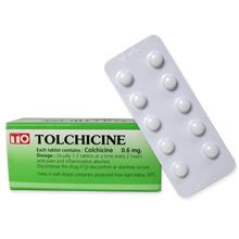 トルチシン(痛風の薬)