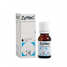 ジルテックシロップ(花粉症治療薬)